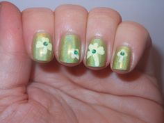 holographic clovers for St. Patrick's Day