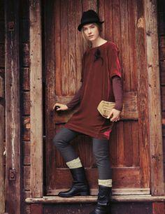 Silk velvet tunic dress from Toast