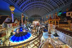 Lotte World, Seoul. Biggest indoor amusement park.