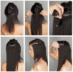 How to use the Clip-in Hair Extensions