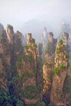 Zhangjiajie, Hunan, China - Double click on the photo to Design & Sell a #travel guide to #China www.guidora.com