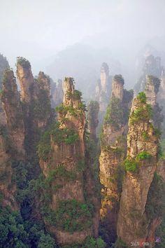 Zhangjiajie, Hunan, China - Double click on the photo to Design & Sell a #travel guide to #China www.guidora.com
