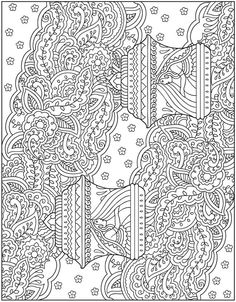 Coloring Page We Are Off To India Where The Amazing Mehndi Is Florishing From Creative Haven Designs Book