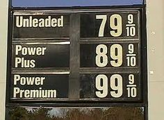 We will never see this again. When I was in High School gas was 17 cents a gallon. Filled up my VW Bug for $2.00 and drove it all week. 1970.