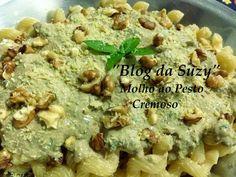 Blog da Suzy : Molho Pesto Cremoso (fácil)