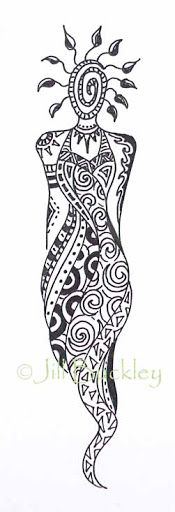 This would look amazing in bright coloured ink.