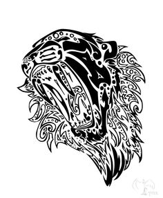 Tribal Lion Tattoo Designs | Tribal Lion Tattoo Design by ~bexyboo16 on deviantART - FR'O'BLOG
