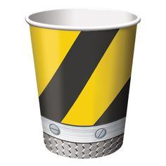Birthday Construction Zone Paper Cups, 9 oz. | 8 ct