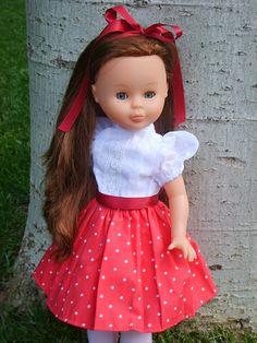 Margarita Margarita, Nancy Doll, Little Doll, Tulle, Flower Girl Dresses, Summer Dresses, Wedding Dresses, Ideas Para, Fashion