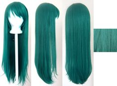 teal wig I know it's fake I would do this for real
