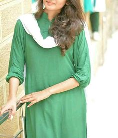 Pakistan Independence Day, Tunic Tops, Blouse, Kurti, Long Sleeve, Sleeves, Beautiful, Women, Fashion