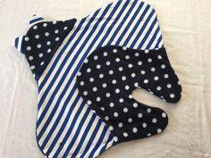 Babydecken - Baby Einschlagdecke Puckdecke Punkte & Stre... - ein Designerstück von EMS-ART-FACTORY bei DaWanda