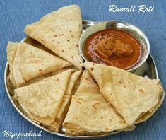 Here's the 3rd  recipe  link of Rumali Roti / Roomali Roti (above photo)                     Rumali  / Roomali  Roti  ...