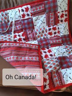 Hockey blanket, Handmade Grab n' Go Lap Quilt, Flannel lap quilts, car blanket, neck roll, Sports blanket, hockey sticks, red white black Sampler Quilts, Lap Quilts, Quilt Blocks, Hockey Decor, Sports Quilts, Car Blanket, Hockey Sticks, Crochet Quilt