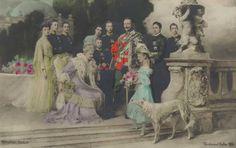 Berlin, Kaiserfamilie, um 1910.