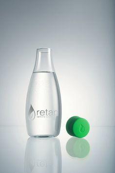Retap, botella de agua de diseño Danés