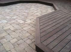 Patio floor idea