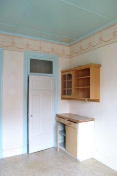 The pantry door.