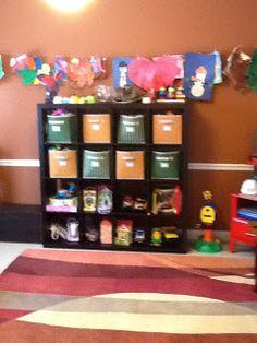 MelooLaLa Dining Room Turned Playroom