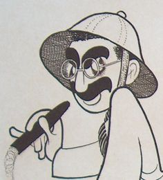 One morning I shot an elephant in my pajamas. How he got into my pajamas I'll never know.   - Groucho Marx