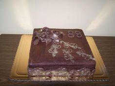 čokoládová s ganache | dorty od mámy