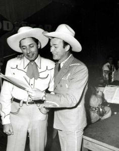Roy Rogers reads with Karl Farr.