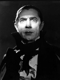Bela Lugosi Playing his most famous role as Dracula 1931.
