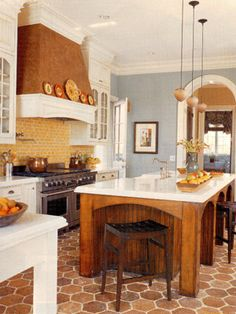 Party friendly kitchens .... do they always look this inviting?