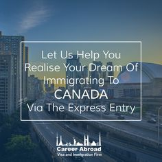 #ExpressEntry is a channel which can help you enter #Canada and explore the numerous #employment opportunities prevalent. Visit: http://www.careerabroad.ca/express-entry/ #SkilledImmigrants #Immigrate