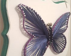 Beautiful Butterfly String Art