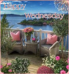 Outdoor Furniture Sets, Outdoor Decor, Happy Wednesday, Home Decor, Interior Design, Home Interior Design, Home Decoration, Decoration Home, Interior Decorating