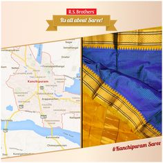 #Kanchipuram sarees (also known as a Kanjivaram sarees) is a type of sari traditionally made by weavers from Kanchipuram located in #TamilNadu, India.  The Kanchipuram sarees is distinguished by its wide contrast borders.Kanchipuram saris woven with heavy silk and gold cloth are considered to be special and are worn on occasions and festivities only.  Exclusive #KanchipuramSarees are available with various #Design's @R.S.Brothers.   (Image copyrights belong to their respective owners)