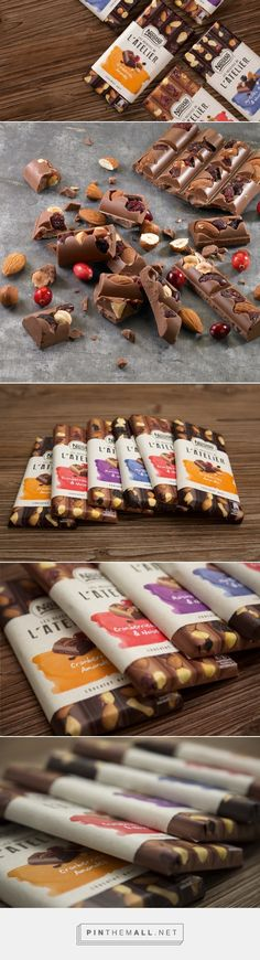 Les Recettes de l'Atelier - Packaging of the World - Creative Package Design Gallery - http://www.packagingoftheworld.com/2016/07/les-recettes-de-latelier.html