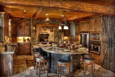 Amazing Kitchens Design With Rustic Elements | Home Design, Garden #16 Designs Ideas