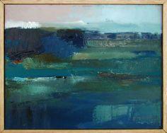 """Saatchi Art Artist xanthippe tsalimi; Painting, """"blue"""" #art"""
