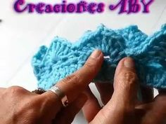 Diadema o tiara de corona tejida a crochet para bebés / English subtitles: crochet baby crown tiara - YouTube