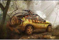 2015 Mercedes-Benz GLE Jurassic World Concept Car Images | futurecarreviews.net