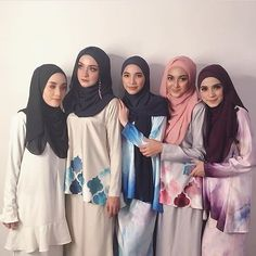 with ma pwetty ladies at @jubahsouq event petang tadi!