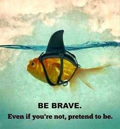 Be Brave put your best foot forward and keep going #ladyrp