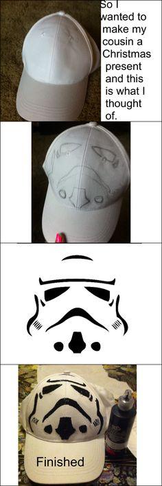 DIY Storm Trooper Hat