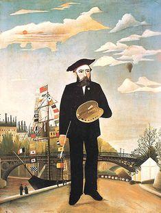 Henri Rousseau : autoportrait (1890)