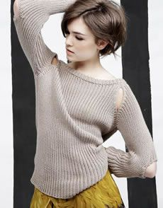 Mind The Gap Sweater in Shiny Happy Cotton. Things Every Girl Should Have, Love Hair, Gorgeous Hair, Beautiful, Cute Haircuts, She Is Clothed, Festival Looks, Fashion Beauty, Fashion Tips
