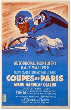 Coupe de Paris1939 poster
