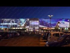 Proietta s.r.l. - VIDEOMAPPING AND ARCHITECTURAL PROJECTIONS - SHOPPING CENTER - YouTube