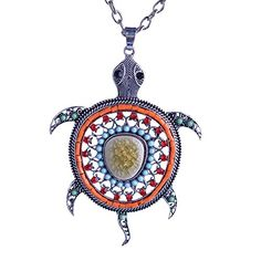 Lureme Orange Pave Crystal Bead Turtle Pendant Silver Tone Chain Necklace for Women and Girls 01001595-1+ LUREME http://www.amazon.com/dp/B00OL82YR4/ref=cm_sw_r_pi_dp_TRjAvb1D4KXQY