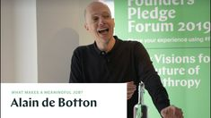 Alain de Botton: Work and Emotional Intelligence Social Enterprise, Emotional Intelligence, Self Help, Philosophy, Meant To Be, Literature, Author, Books, Asian Recipes