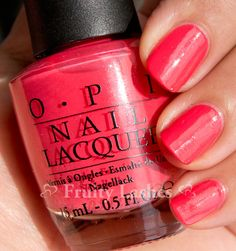 OPI I Eat Mainely Lobster...love this coral color!