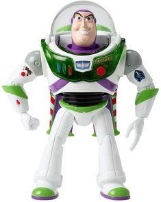Mattel Disney(R) Pixar Toy Story True Talkers(TM) Buzz Lightyear Figure , Disfraz Buzz Lightyear, Buzz Lightyear Figure, Buzz Lightyear Costume, Toy Story Buzz Lightyear, Disney Pixar, Disney Toys, Pikachu, Mattel, Hot Wheels