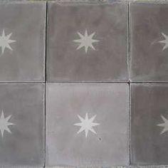 Starry Concrete tiling