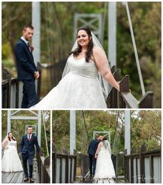Bride & Groom Portraits on the Swing Bridge at Redcliffe on the Murray in Pinjarra. Photography by Trish Woodford Photography Rainy Wedding, Wedding Day, Rustic Wedding Venues, Father Daughter Dance, Happy Marriage, Bridesmaid Dresses, Wedding Dresses, Family Photographer, Bride Groom